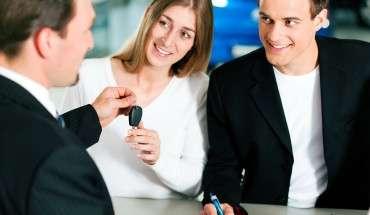 customers in dealership